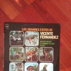Discos de vinilo: VICENTE FERNÁNDEZ GRANDES ÉXITOS. Lote 83585454