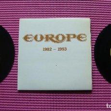 Discos de vinilo: EUROPE 1982-1993 DOBLE SINGLE. Lote 83586284