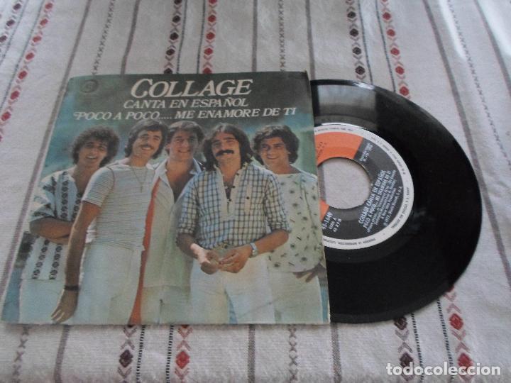 COLLAGE CANTA EN ESPAÑOL POCO A POCO (Música - Discos - Singles Vinilo - Canción Francesa e Italiana)