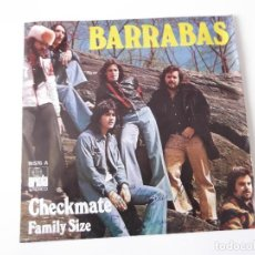 Discos de vinilo: BARRABAS - CHECKMATE / FAMILY SIZE. Lote 83598008