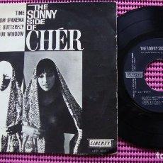 Discos de vinilo: CHER ?– THE SONNY SIDE OF CHÉR-EP. Lote 83600296