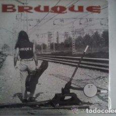 Discos de vinilo: BRUQUE - BRUQUE - LP VINYL 1991 - HEAVY METAL BARCELONA SPAIN (TIGRES, FUCK OFF, EVO, HADES, ATILA). Lote 132178154