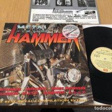 Discos de vinilo: METAL HAMMER -LP 1989 SPAIN- HEAVY METAL (WHITESNAKE-WASP-SLAUGHTER.- DICKINSON). Lote 83614060