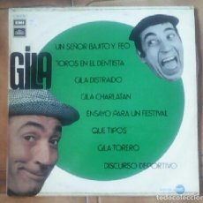 Discos de vinilo: DISCO LP DE GILA - AÑO 1972 - 8 TEMAS --REFM2E5. Lote 83616436