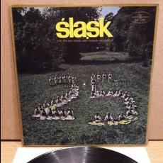 Discos de vinilo: SLASK. THE POLISH SONG AND DANCE ENSEMBLE. 25 LAT. LP-GATEFOLD / MUZA-POLONIA / MBC. ***/***. Lote 83626176