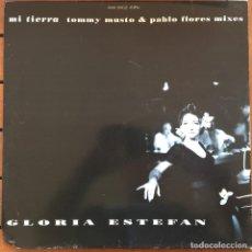 Discos de vinilo: GLORIA ESTEFAN - MI TIERRA . 1993 EPIC. Lote 83634300