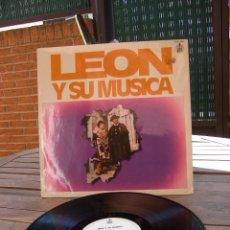 Discos de vinilo: LEON Y SU MUSICA: COROS Y DANZAS DE ESPAÑA. Lote 83657932
