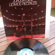 """Discos de vinilo: JOAQUÍN DÍAZ, """"ÚLTIMOS RECITALES"""":. Lote 83659136"""