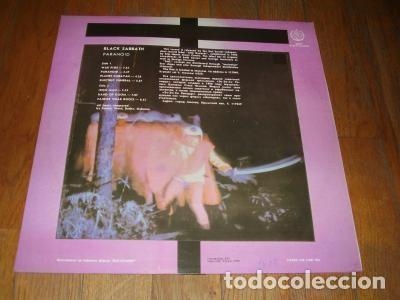 Discos de vinilo: Black Sabbath – PARANOID - EDICIÓN RUSA, URSS - Foto 2 - 83659752