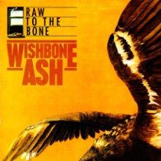 Discos de vinilo: RAW TO THE BONE. WISHBONE ASH. LP VINILO. 1985. HARD ROCK PROGRESIVO . Lote 83690284