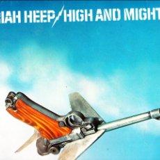 Discos de vinilo: HIGH AND MIGHTY. URIAH HEEP. LP VINILO. 1976. HEAVY METAL. Lote 83690660