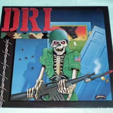 Discos de vinilo: LP D.R.I. - DIRTY ROTTEN LP / VIOLENT PACIFICATION. Lote 83702508