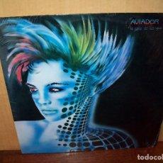 Discos de vinilo: AVIADOR DRO - EL COLOR DE TUS OJOS ALBAILAR - MAXI-SINGLE 1984. Lote 83712112
