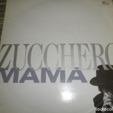 Discos de vinilo: ZUCCHERO - MAMA - MAXI 45 RPM - ORIGINAL INGLES - LONDON RECORDS 1989 -. Lote 83715968