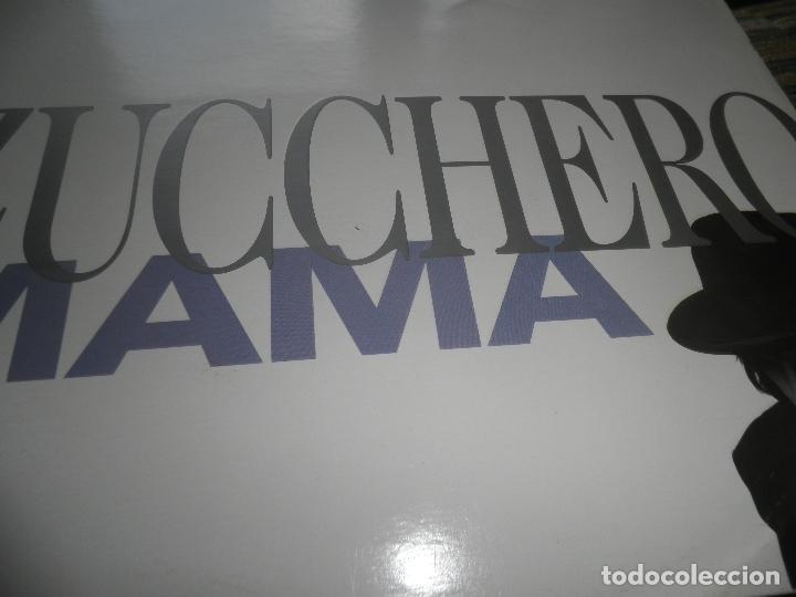 Discos de vinilo: ZUCCHERO - MAMA - MAXI 45 RPM - ORIGINAL INGLES - LONDON RECORDS 1989 - - Foto 5 - 83715968