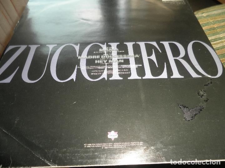 Discos de vinilo: ZUCCHERO - MAMA - MAXI 45 RPM - ORIGINAL INGLES - LONDON RECORDS 1989 - - Foto 6 - 83715968