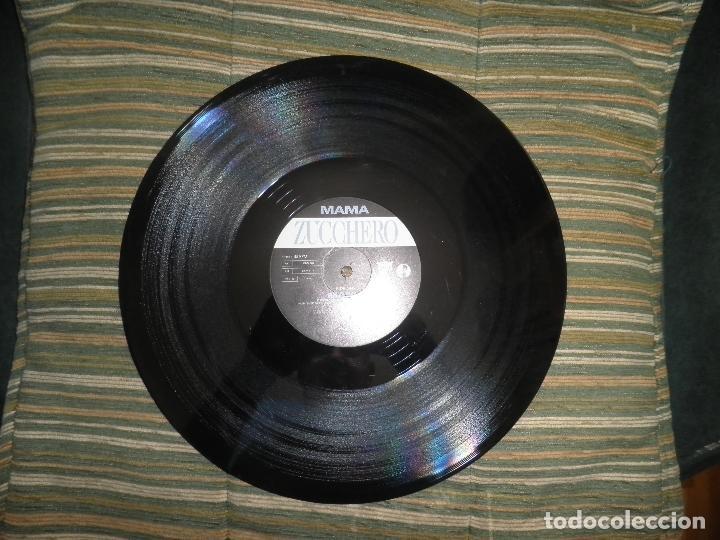Discos de vinilo: ZUCCHERO - MAMA - MAXI 45 RPM - ORIGINAL INGLES - LONDON RECORDS 1989 - - Foto 7 - 83715968