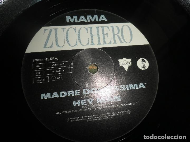 Discos de vinilo: ZUCCHERO - MAMA - MAXI 45 RPM - ORIGINAL INGLES - LONDON RECORDS 1989 - - Foto 9 - 83715968
