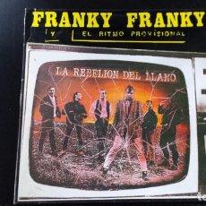 Discos de vinilo: VINILO FRANKY FRANKY: LA REBELION DEL LLLANO. Lote 83719084
