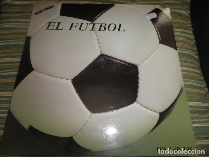 Discos de vinilo: LOS GARCIAS - EL FUTBOL MAXI 45 RPM - ORIGINAL ESPAÑOL - SANNI RECORDS 1984 - MUY NUEVO(5) - Foto 7 - 83721740