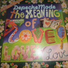 Discos de vinilo: DEPECHE MODE - THE MEANING OF LOVE MAXI 45 RPM - ORIGINAL ESPAÑOL - RCA RECORDS 1982 -. Lote 83723200