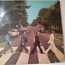 Discos de vinilo: THE BEATLES (ABBEY ROAD ) LP ESPAÑA 1969 J62-04.243 LABEL AZUL OSCURO. Lote 83729324