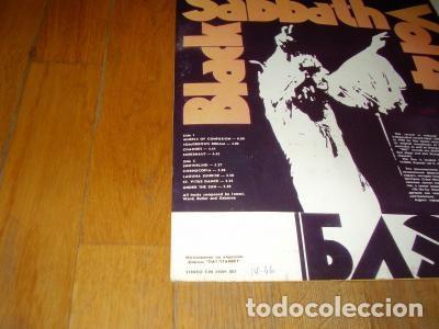 Discos de vinilo: BLACK SABBATH - LP- VOL.4. EDICION RUSA, RUSIA, URSS. - Foto 4 - 83737428