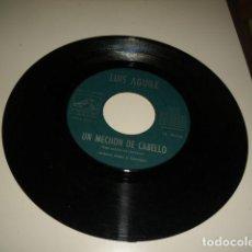 Discos de vinilo: ARM-3 DISCO CHICO 7 PULGADAS SOLO DISCO SIN PORTADA LUIS AGUILE JUANITA BANANA. Lote 83738332