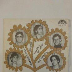 Discos de vinilo: ESTELS BLAUS - COMPRENDE NIÑA/ BALADA A UN HÉROE/ OLE CON OLE/ OLVÍDALAS- 1970-BUEN ESTADO-RARÍSIMO-. Lote 83750800