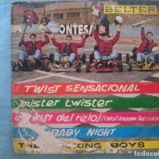 Discos de vinilo: THE ROCKING BOYS -- TWIST SENSACIONAL-MISTER TWISTER-EL TWIST DEL RELOJ-ETC -REFM1E3. Lote 83752504