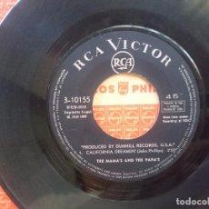 Discos de vinilo: THE MAMA´S AND THE PAPA´S -- CALIFORNIA DREAMIN-MONDAY MONDAY -REFM1E3. Lote 83752672