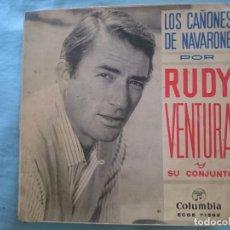 Discos de vinilo: RUDY VENTURA -LOS CAÑONES DE NAVARONE-SIEMPRE ES DOMINGO-YASSU-ETC -REFM1E3. Lote 83753476