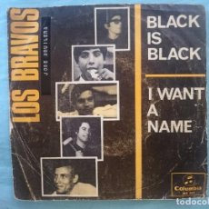Discos de vinilo: LOS BRAVOS --BLACK IS BLACK--I WANT A NAME -REFM1E3. Lote 83755792