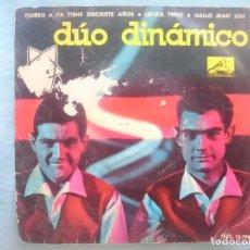 Discos de vinilo: DUO DINAMICO --QUIERO-YA TIENE DIECISIETE AÑOS-LOLITA TWIST-HALLO MARI LOU -REFM1E3. Lote 83757956