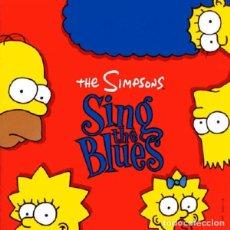 Discos de vinilo: LP.- THE SIMPSONS SING THE BLUES - ORIGINAL 1990 - JAZZ,ELECTRIC BLUES, POP RAP, HIP HOP, SOUL, FUNK. Lote 83761624