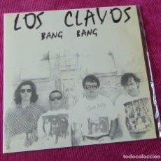 Discos de vinilo: LOS CLAVOS - BANG BANG - SINGLE ROMILAR-D 1991. Lote 83773016