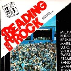 Discos de vinilo: READING ROCK. HEAVY METAL. 1982.DOBLE LP VINILO EN DIRECTO. . Lote 83798892