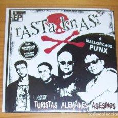 Discos de vinilo: RASTA KNAST -EP VINILO 7''- TURISTAS ALEMANES ASESINOS. PUNK COMMANDO 9MM, TOREROS AFTER OLE.... Lote 83812784