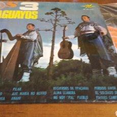 Discos de vinilo: LOS 3 PARAGUAYOS:MALAGUEÑA/ANAHI+13 (LP.12