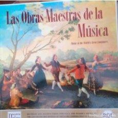 Discos de vinilo: LAS OBRAS MAESTRAS DE LA MUSICA. EDICION SUPERLUJO. AÑO 1959. Lote 83829620