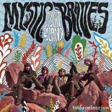 Discos de vinilo: LP THE MYSTIC BRAVES DESERT ISLAND VINILO GARAGE PSYCH. Lote 106757027