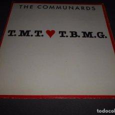 Discos de vinilo: THE COMMUNARDS --- T.M.T.L.T.B.M.G. PROMOCIONAL REF: 886 282-1 ESPAÑA 1988. Lote 83845236