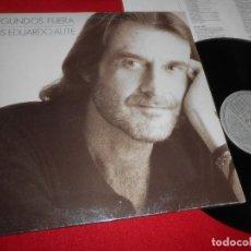 Discos de vinilo: LUIS EDUARDO AUTE SEGUNDOS FUERA LP 1989 ARIOLA EDICION ESPAÑOLA SPAIN . Lote 83886164