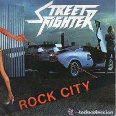 Discos de vinilo: STREET FIGHTER - ROCK CITY / SHOOT YOU DOWN - SINGLE VICTORIA 1984. Lote 83887996