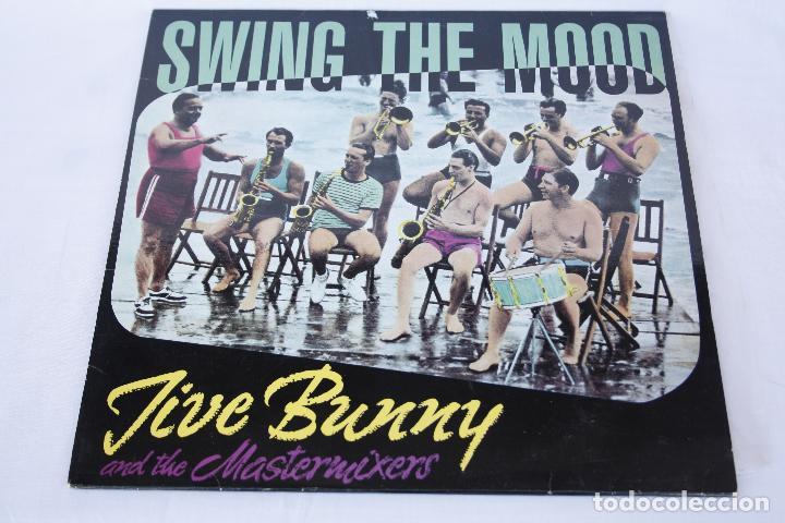 DISCO VINILO MAXI SINGLE - JIVE BUNNY - SWING THE MOOD (Música - Discos de Vinilo - Maxi Singles - Rock & Roll)