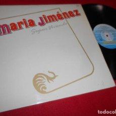 Discos de vinilo: MARIA JIMENEZ SEGUIR VIVIENDO LP 1986 FONOMUSIC EDICION ESPAÑOLA SPAIN. Lote 83899768