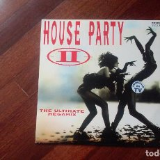 Discos de vinilo: HOUSE PARTY II-THE ULTIMATE MEGAMIX.DOBLE LP ESPAÑA. Lote 83902088