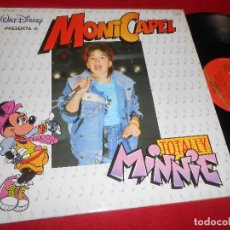 Discos de vinilo: MONI CAPEL BERNI/SI QUIERES SER CAMPEON/TOTALLY MINNIE MX 12'' 1987 VIRGIN SPAIN MICKEY MOUSE DISNEY. Lote 83922224