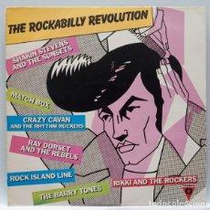Discos de vinilo: THE ROCKABILLY REVOLUTION - VARIOS - PROMOCIONAL. Lote 83931740