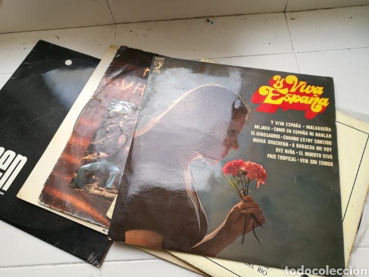 Discos de vinilo: Lote de 7 discos de vinilo antiguos. Marvin Gaye, pasodobles, Antonio Machín, etc - Foto 3 - 83936375